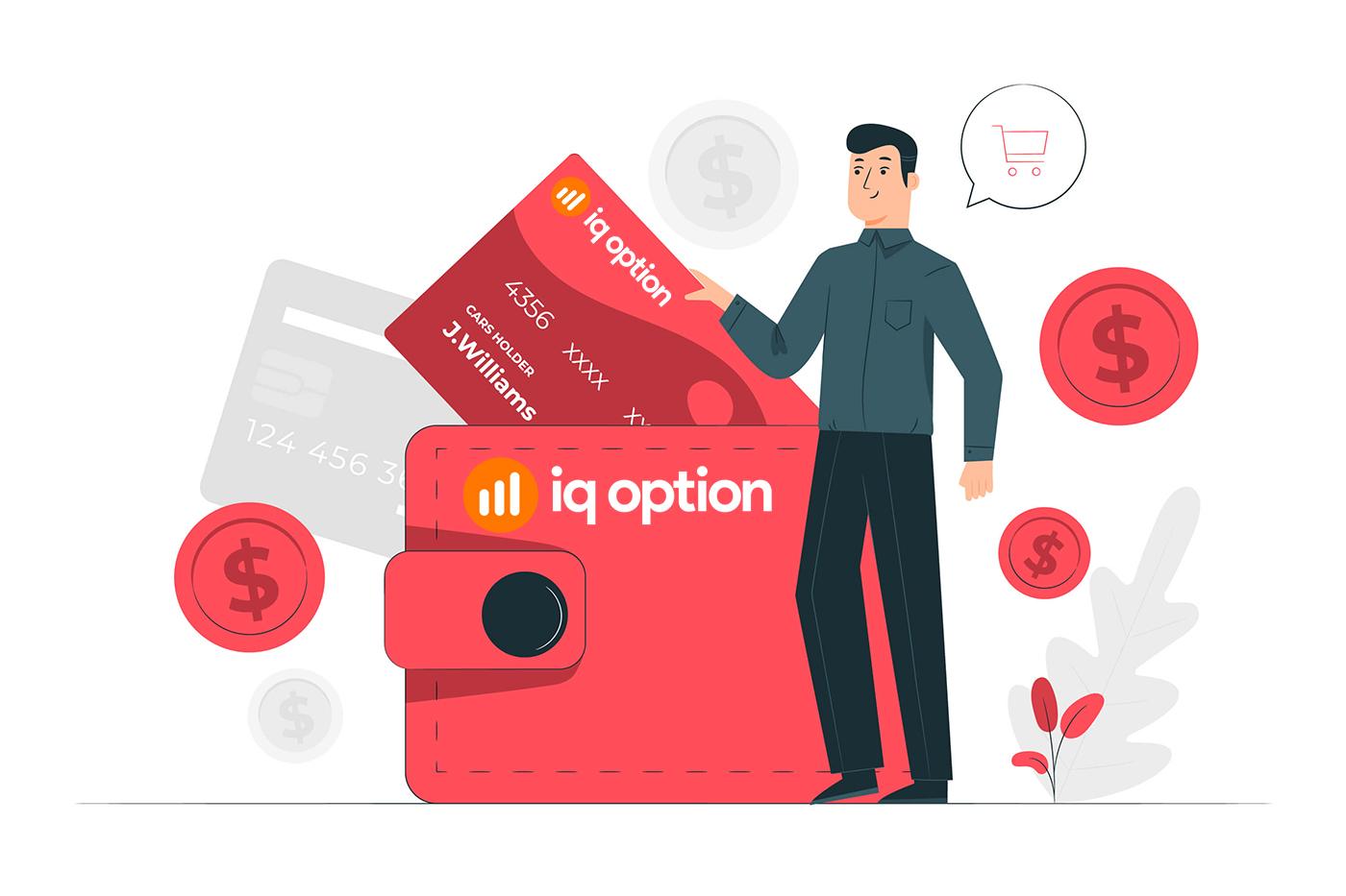 Comment ouvrir un compte et retirer de l'argent sur IQ Option