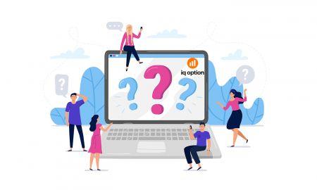 Foire aux questions (FAQ) des comptes, vérification dans IQ Option