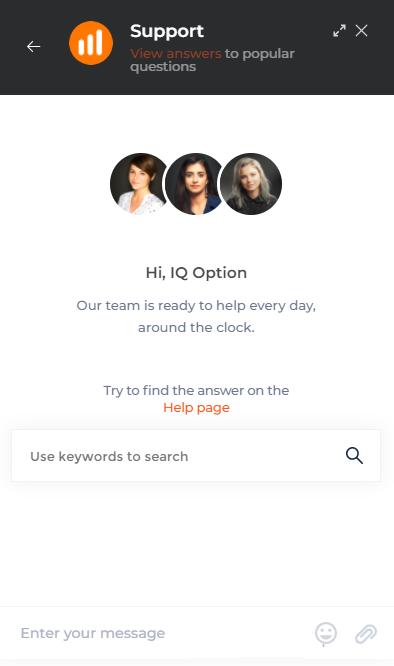 Comment contacter l'assistance IQ Option